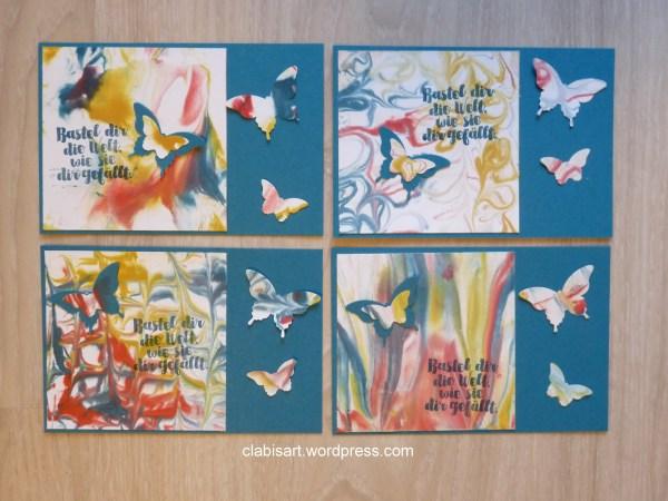 Rasierschaum-Karten clabis ART