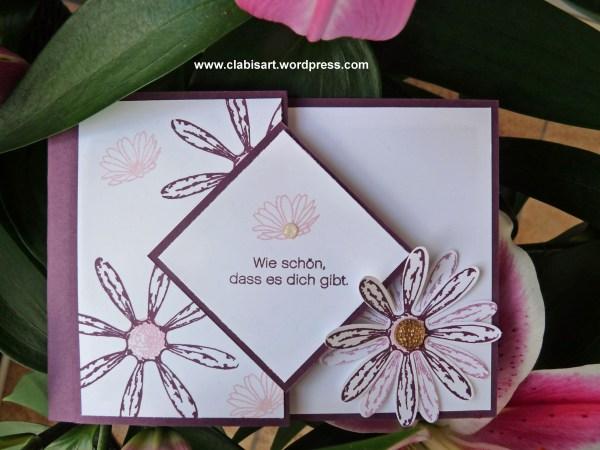 Gänseblümchenkarte